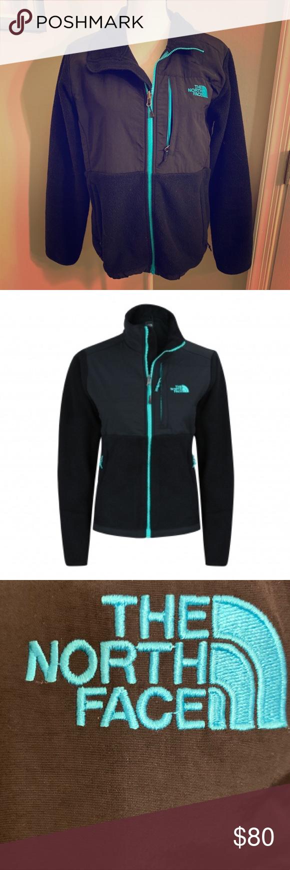 North Face Denali Fleece Black And Blue Jacket Light Blue Jacket Blue Jacket Jackets [ 1740 x 580 Pixel ]