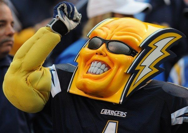 A Definitive Ranking Of Nfl Mascots San Diego Chargers National Football League Nfl