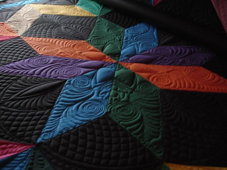 Image result for carpenter's star machine quilting | Quilts ... : how to make an amish quilt - Adamdwight.com