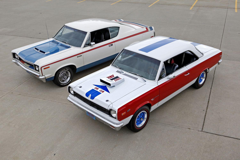 1970 Amc Machine And 1969 Amc Hurst Sc Rambler Muscle Cars
