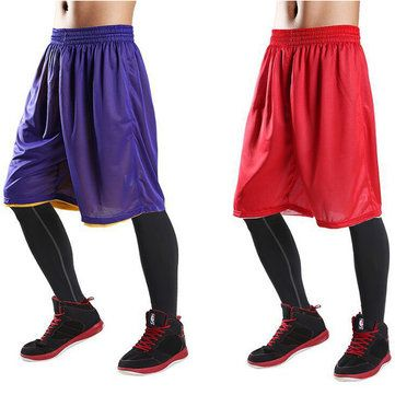 Only US$13.94 , shop Summer Basketball Running Speed Dry Shorts Men's Double-Way Breathable Loose Beach Shorts  at Banggood.com. Buy fashion Bottoms online.