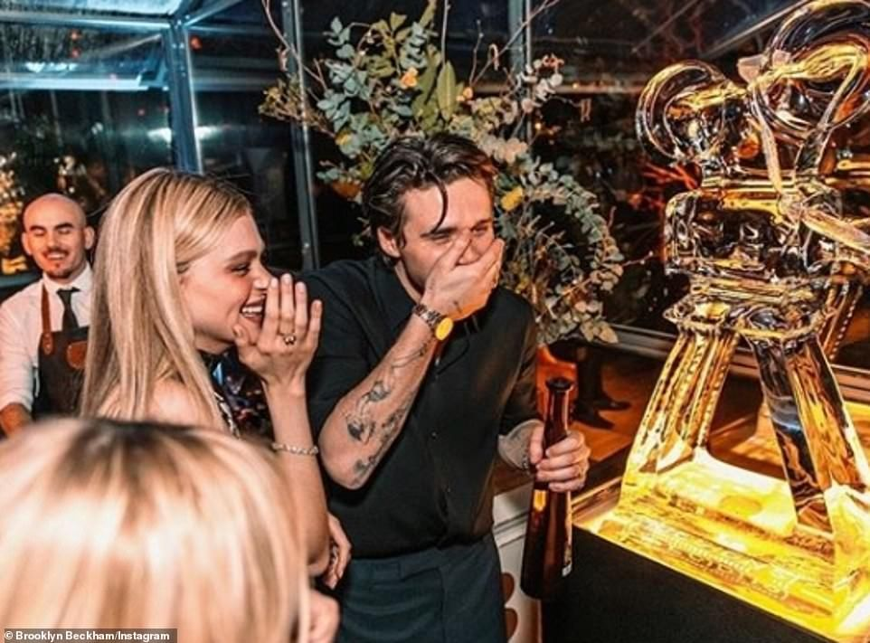 Brooklyn Beckham Shares More Snaps From His 100k 21st Birthday Bash In 2020 Brooklyn Beckham Beckham Spice Girls