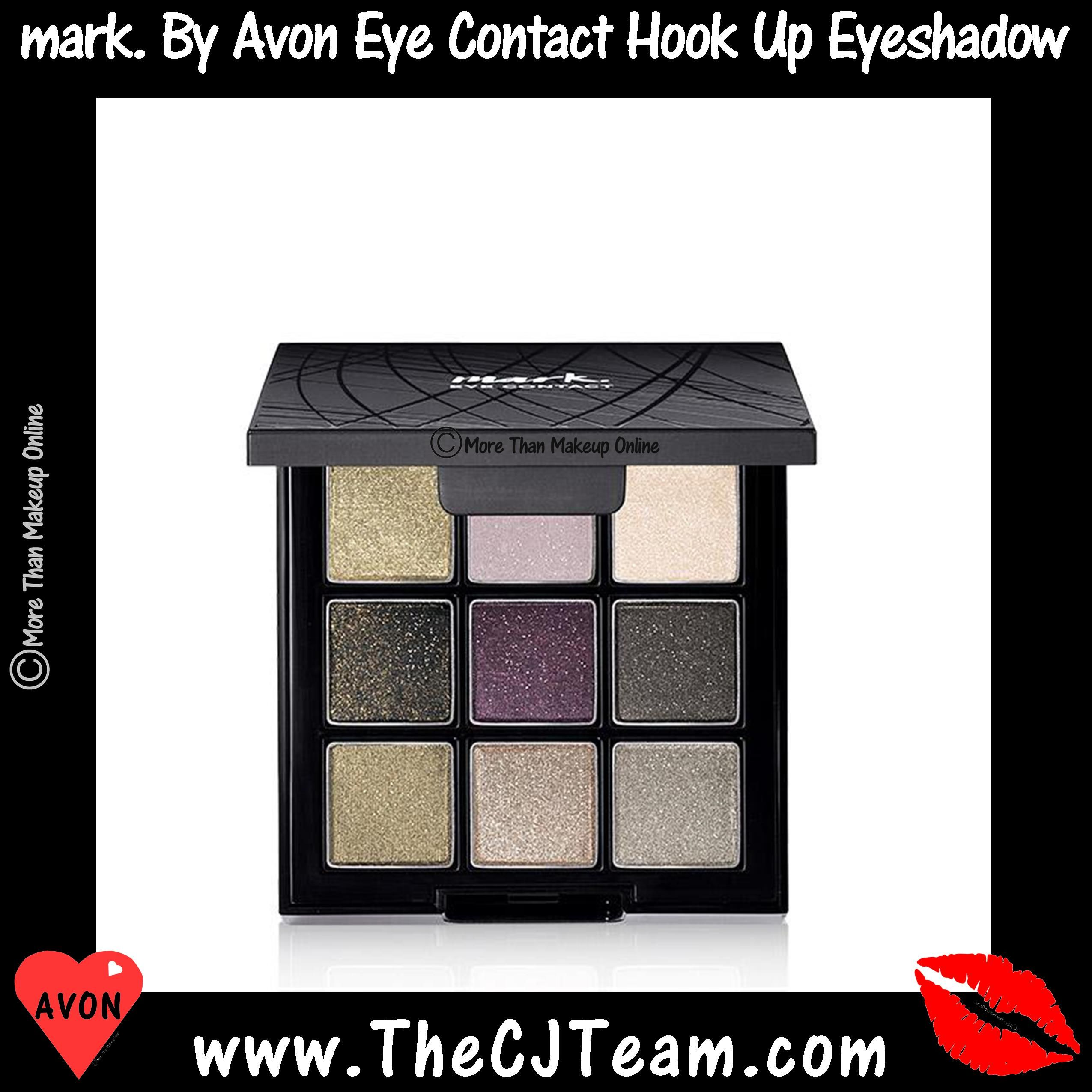mark. By Avon Eye Contact Hook Up Eyeshadow Palette. Avon