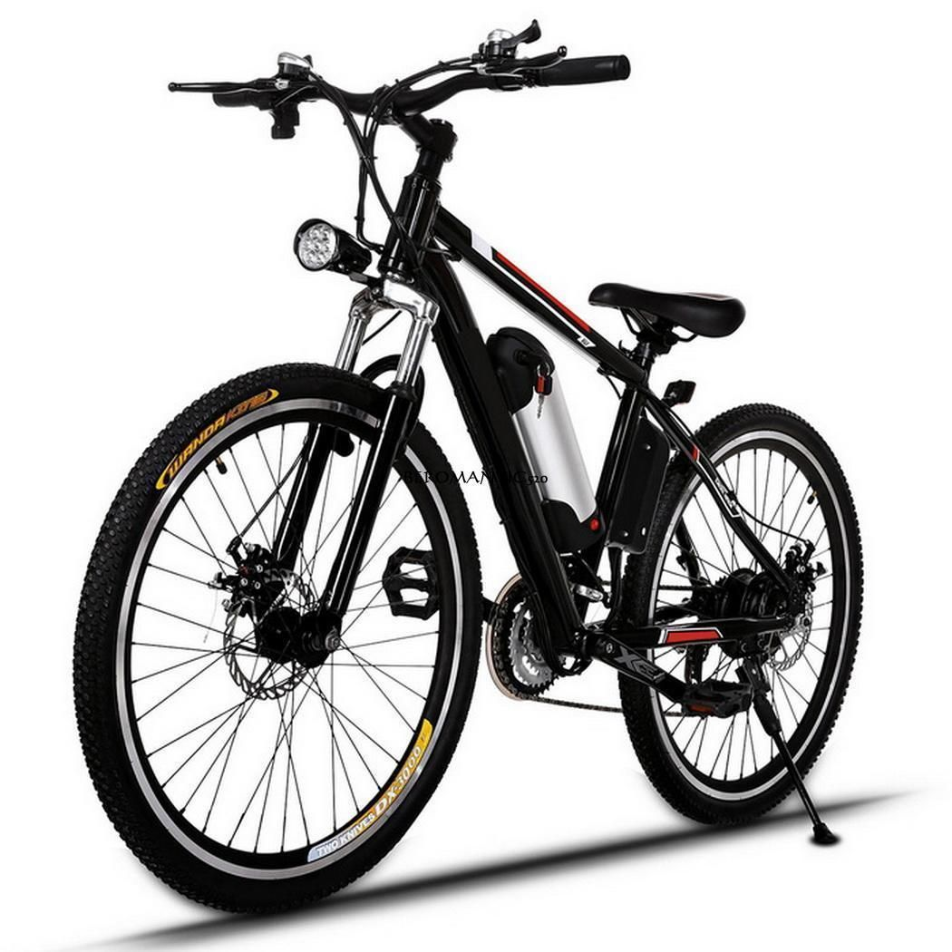 26 Zoll E-MTB bis 35km/h Mountainbike Bergbike Bergfahrrad E-Bike ...