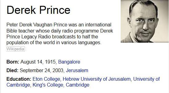 Derek prince wikipedia