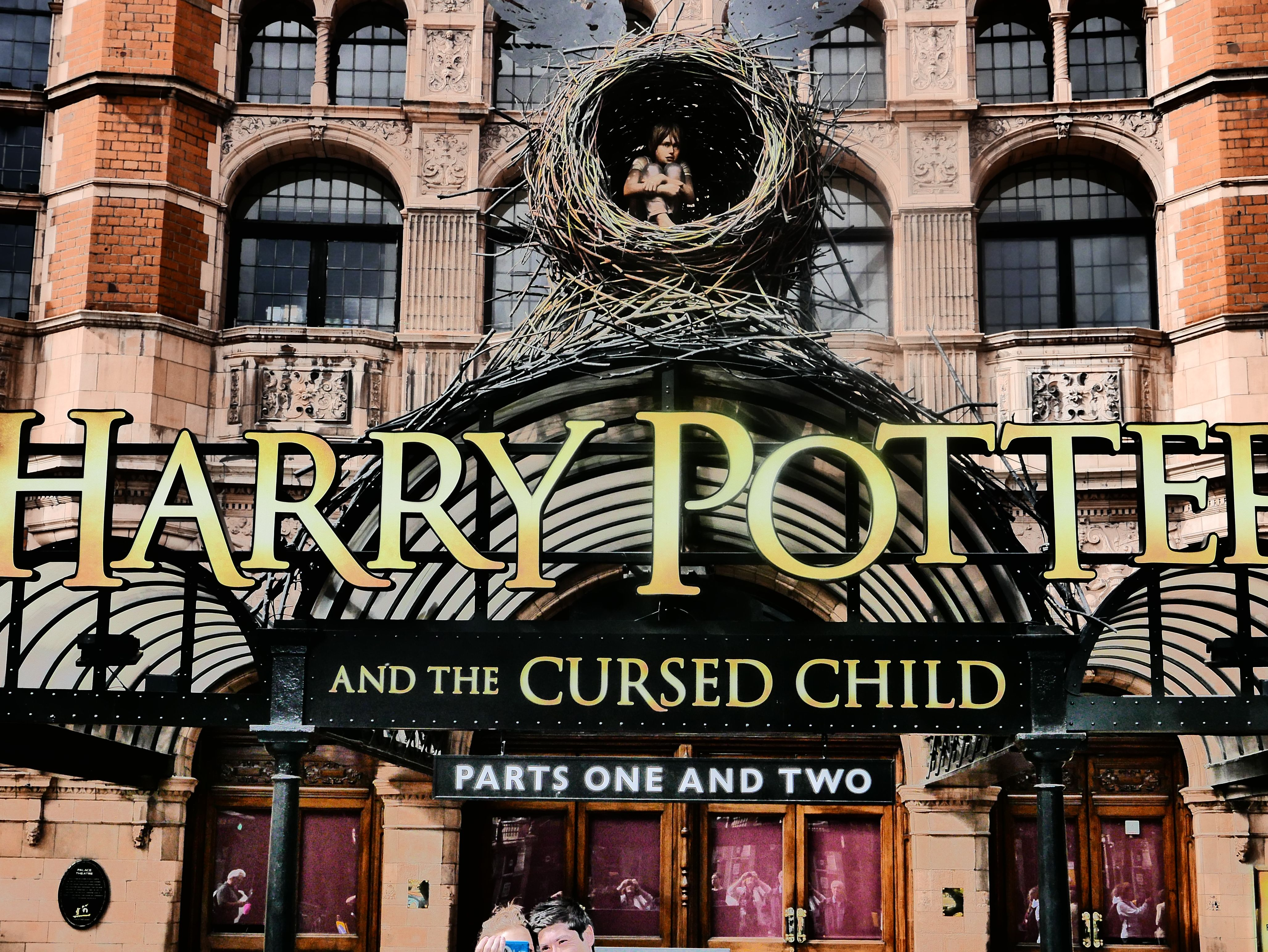 The Palace Theatre London Home Of Hp And The Cursed Child Cursed Child City Guide Day Off Work