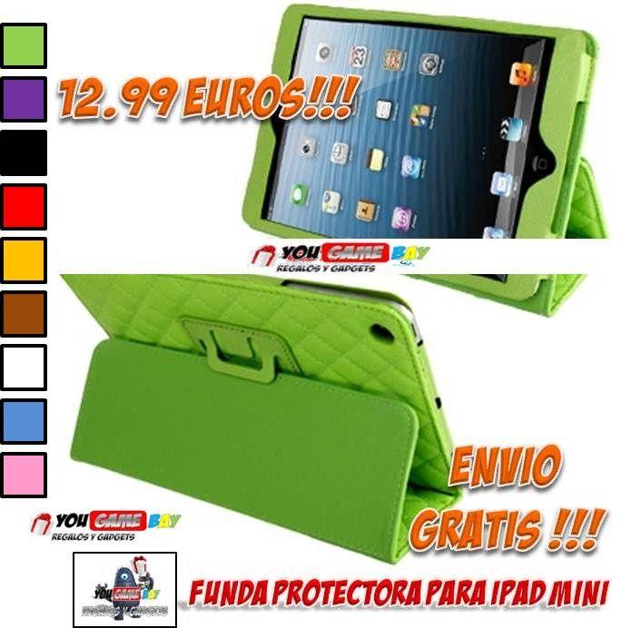 751c3f497 Fundas y accesorios tablet iPad Mini. Comprar Funda con soporte para iPad  Mini a precios