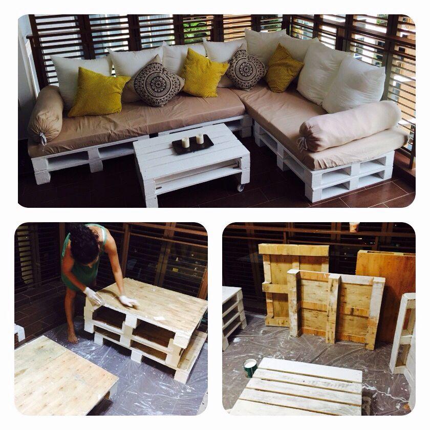 Wooden pallets , Outdoor furniture | Diy home interior ...