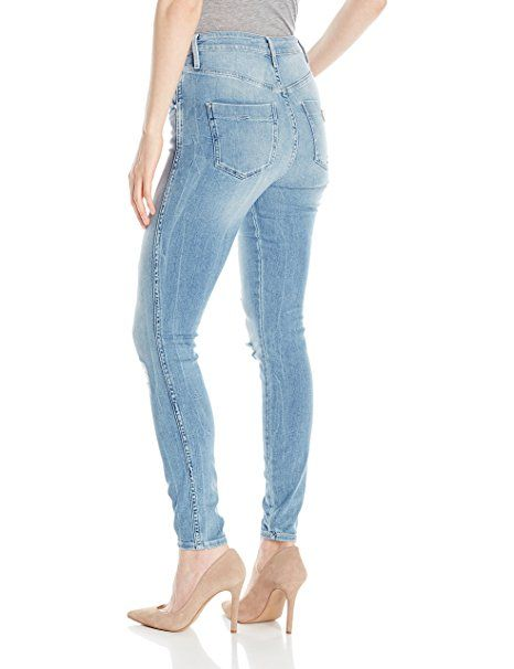 Guess Women S Super High Rise Jean Amazon Com Mx Ropa Zapatos Y Accesorios Ropa