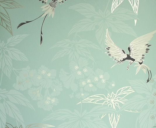Wallpaper With Birds daily design delight: bring spring inside with these 5 wallpaper