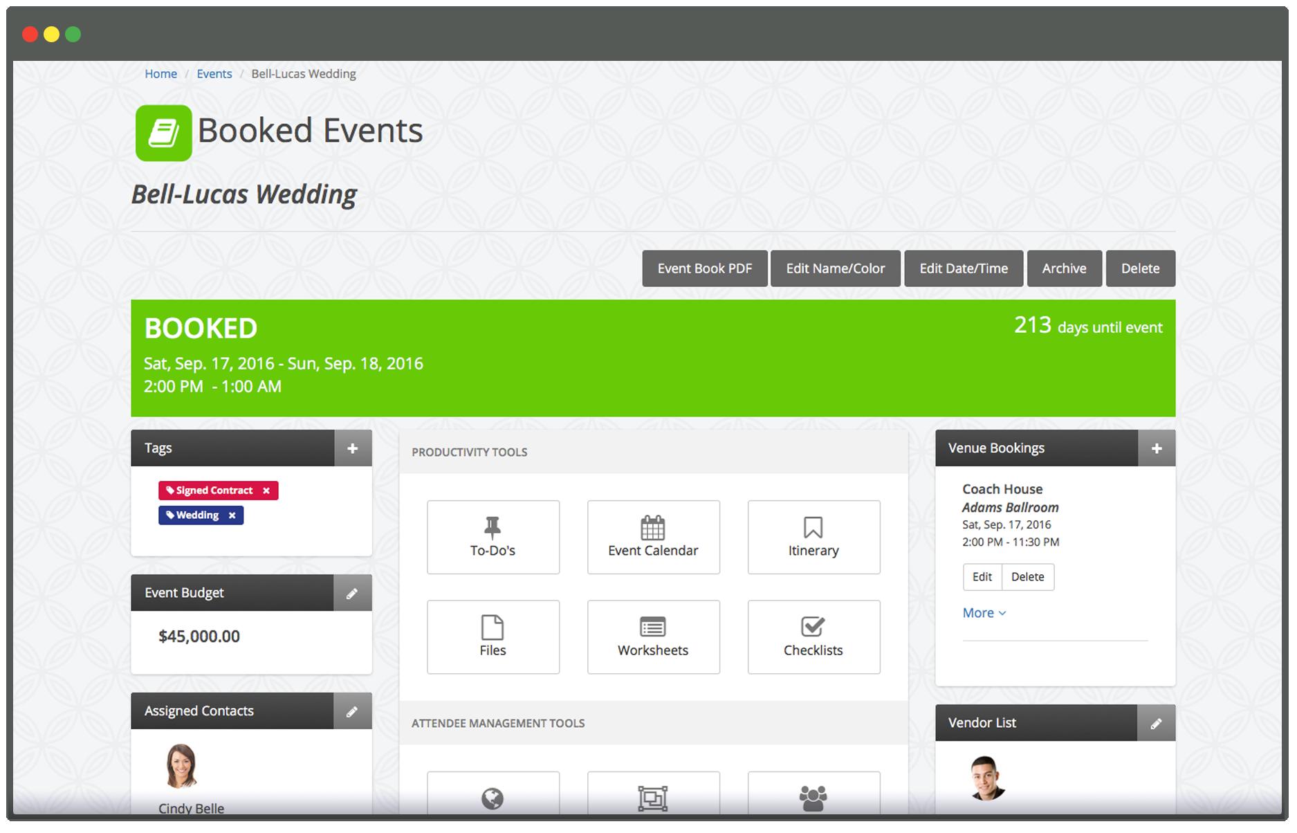 Wedding Planner App.Online Wedding Planning Software For Professional Wedding Planners