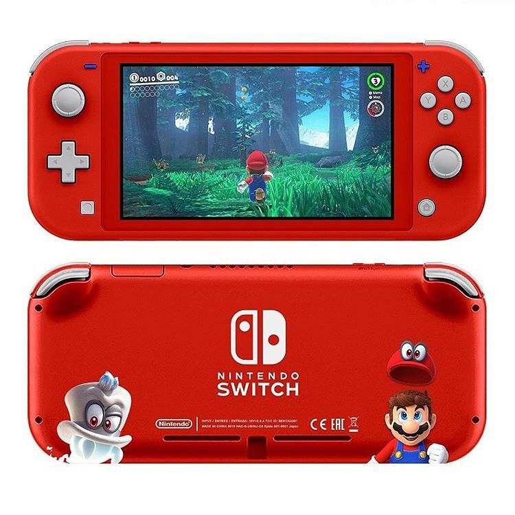 Super Mario Odyssey Switch Lite! What's your favorite