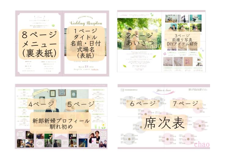 作り方】結婚式プロフィールブックを手作り♡無料テンプレート