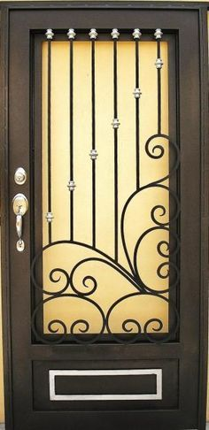 Puertas Principales Forja Herreria Moderna Puertas Herreria Puertas De Metal Puertas De Fierro