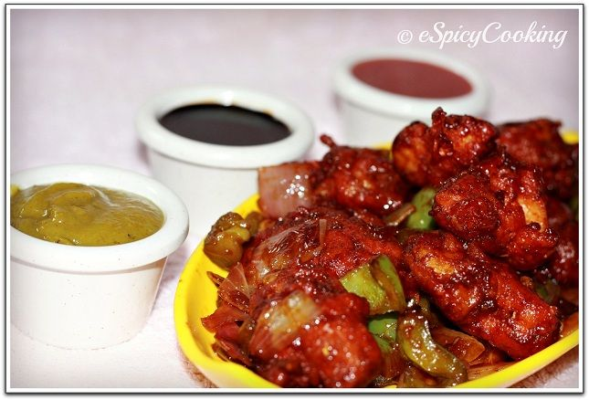 Indian style chilli chicken indian food recipes pinterest food indian style chilli chicken forumfinder Gallery