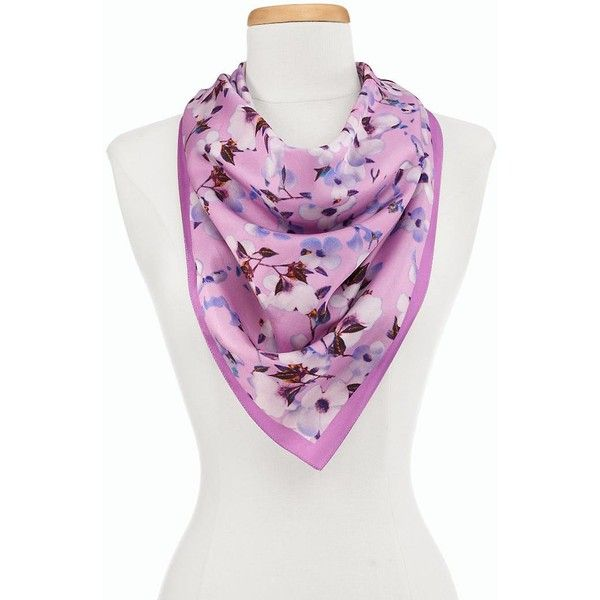 TALBOTS BLOSSOMS SCARF