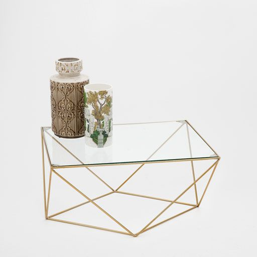 Zara Geometric Coffee Table Living Room Without Coffee Table