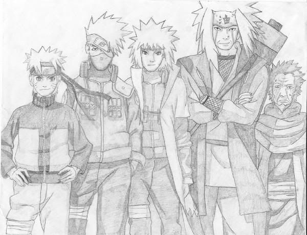 Naruto Anime Drawings Naruto Pencil Drawing By Numzie On
