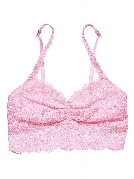 aee6dcb01195f0 Victoria s Secret PINK Lace Bralette  VictoriasSecret