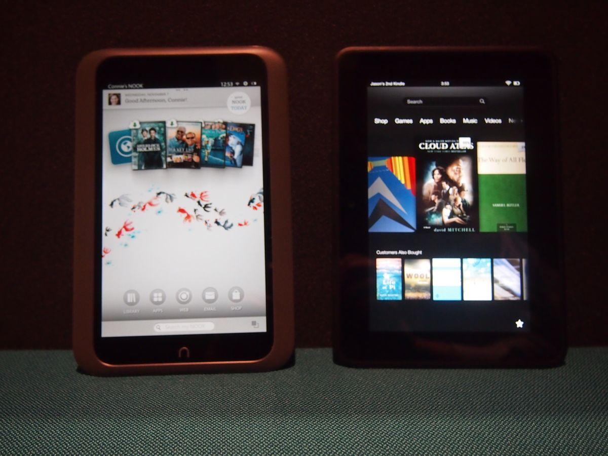 Kindle Fire Hd And Nook Hd Two Tablets To Consider Instead Of The