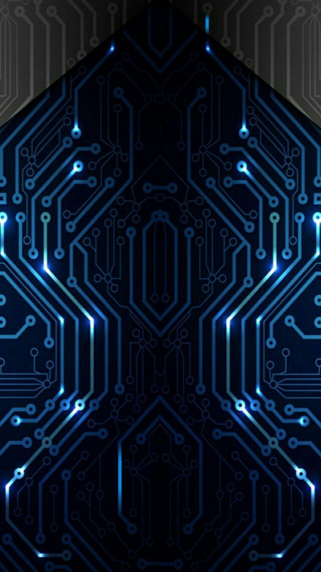 Pin Oleh Lynn Hays Di T E C H Rangkaian Elektronik Kertas Dinding Abstrak