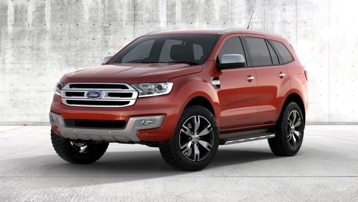 Ford Unveils Seven Seat Everest Suv Carros Suv Suv Chevrolet