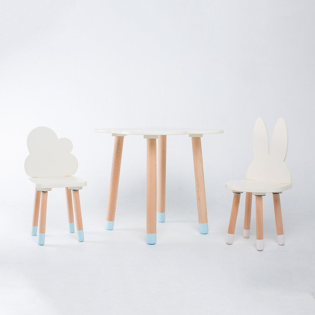 Fun Wooden Kids Table And Chairs Set In 2019 Wooden Table