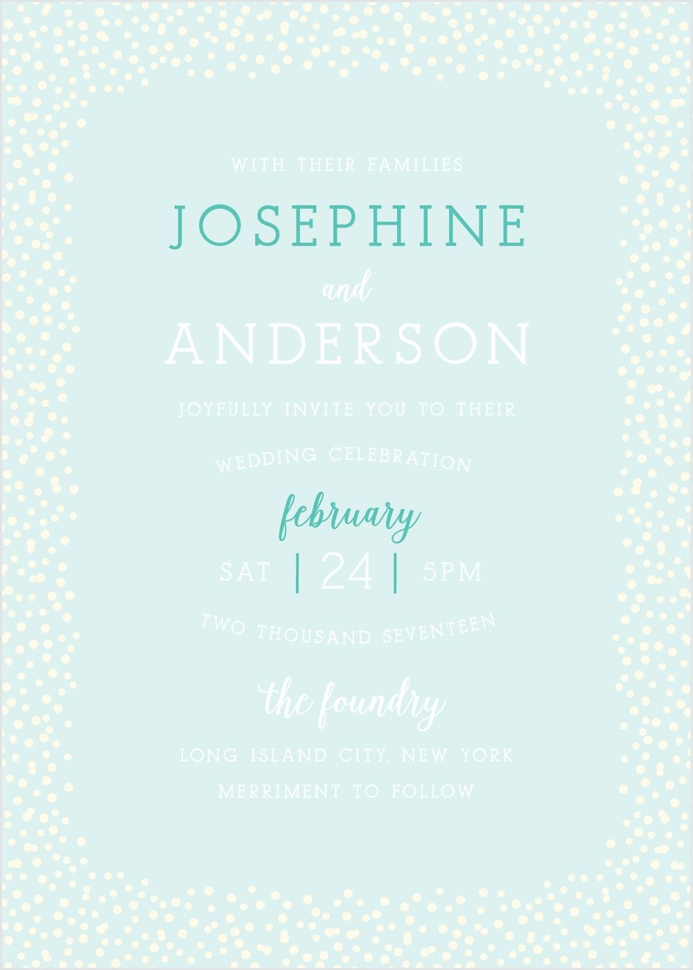 Pin by Andrea Cernaz on Wedding | Pinterest | Confetti, Invitation ...