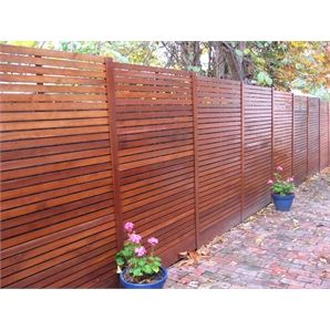 Screen Panel Timber 1800x900x30mm Vertical Slat - Bunnings