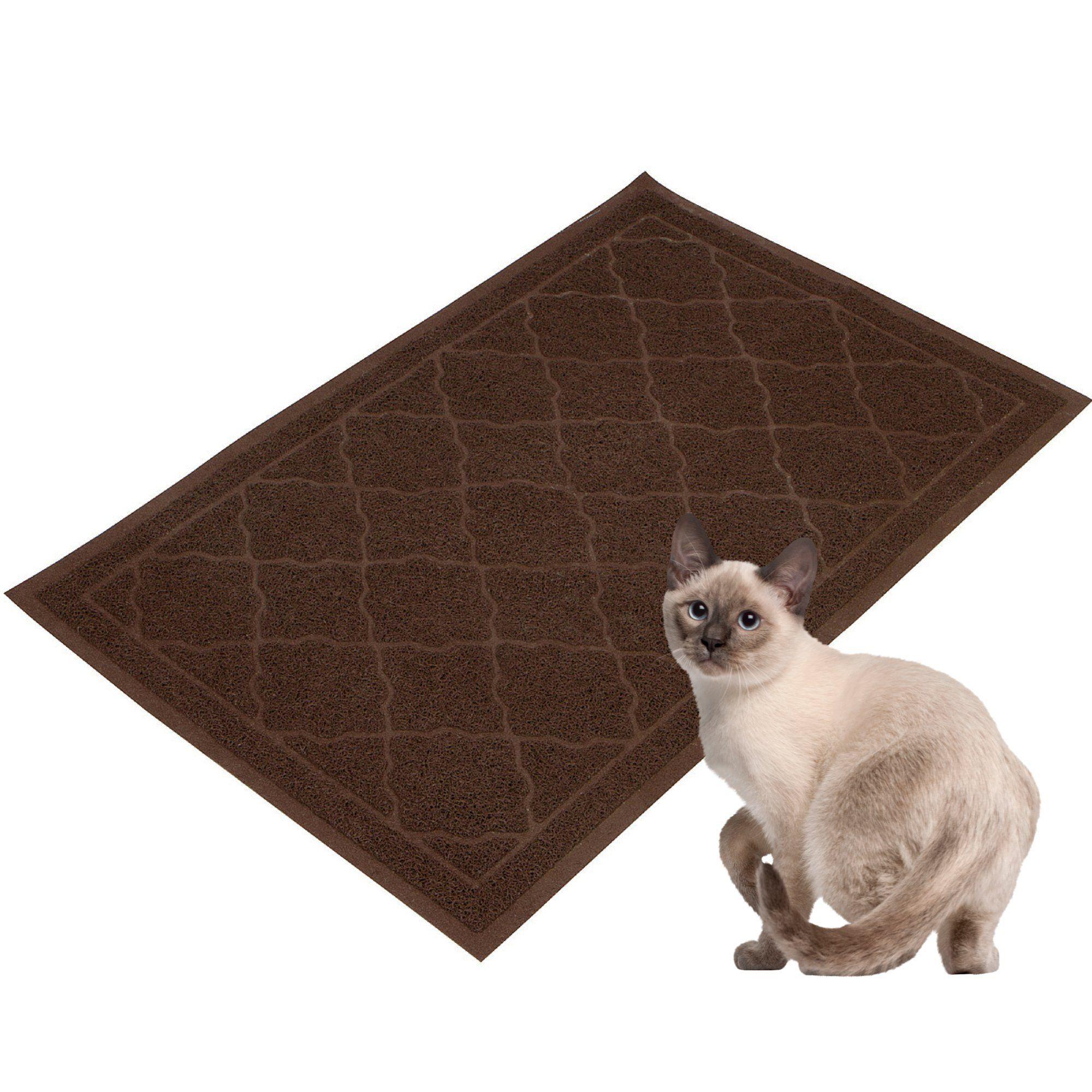 center catcher petcostore petmate cat en shop petco product mats litter mat grid