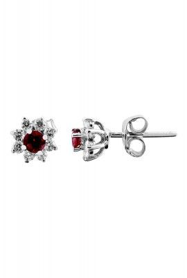 Lavisa White Gold Diamond Earrings