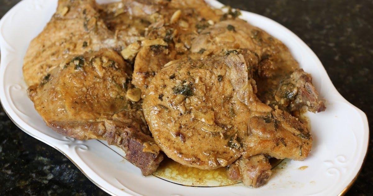 Chuletas De Cerdo Al Ajillo Una Forma Facil De Cocinar La