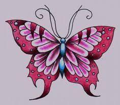 Resultado De Imagen De Mariposas Para Dibujar A Lapiz Butterfly Drawing Drawings Animal Tattoos