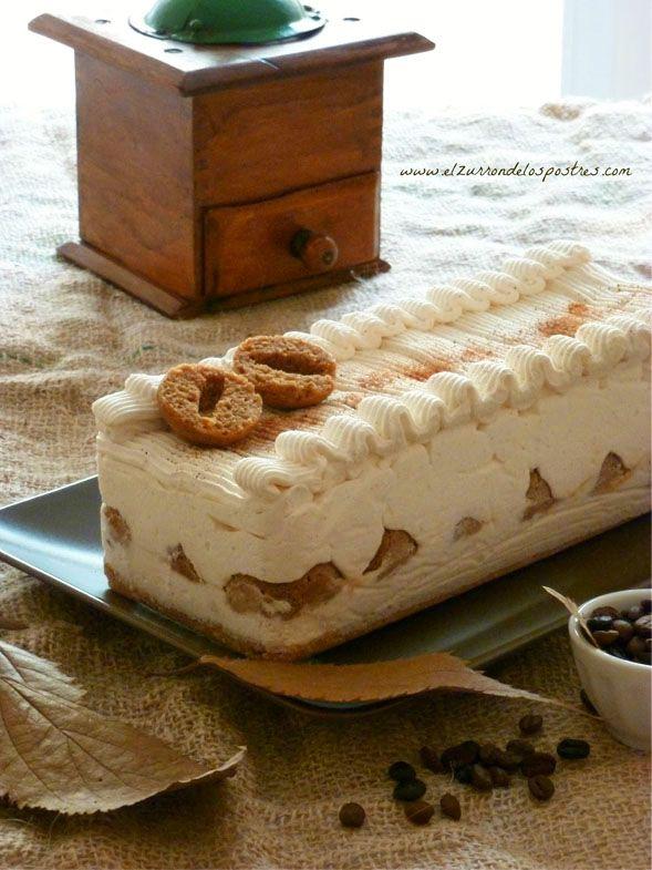 Pecados de Reposteria Pastel de cake pops de café y nata a la canela - Pecados de Reposteria