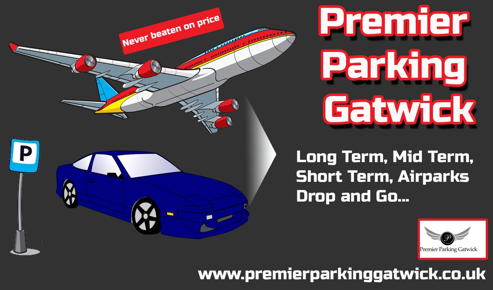 Premier parking gatwick premier valet parking pinterest premier parking provides safe and secure airport parking near gatwick airport book online and secure your cheap holiday airport parking now kristyandbryce Images