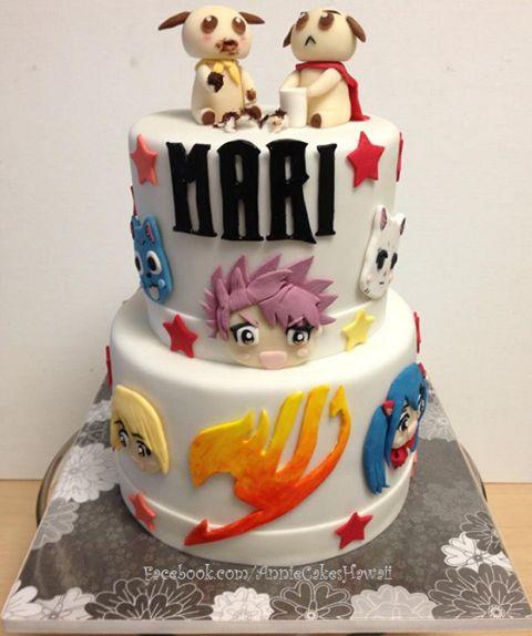 Art Attack Theme Cake : Fairy Tail Cake Cake Pinterest Fairy, Cake and Anime