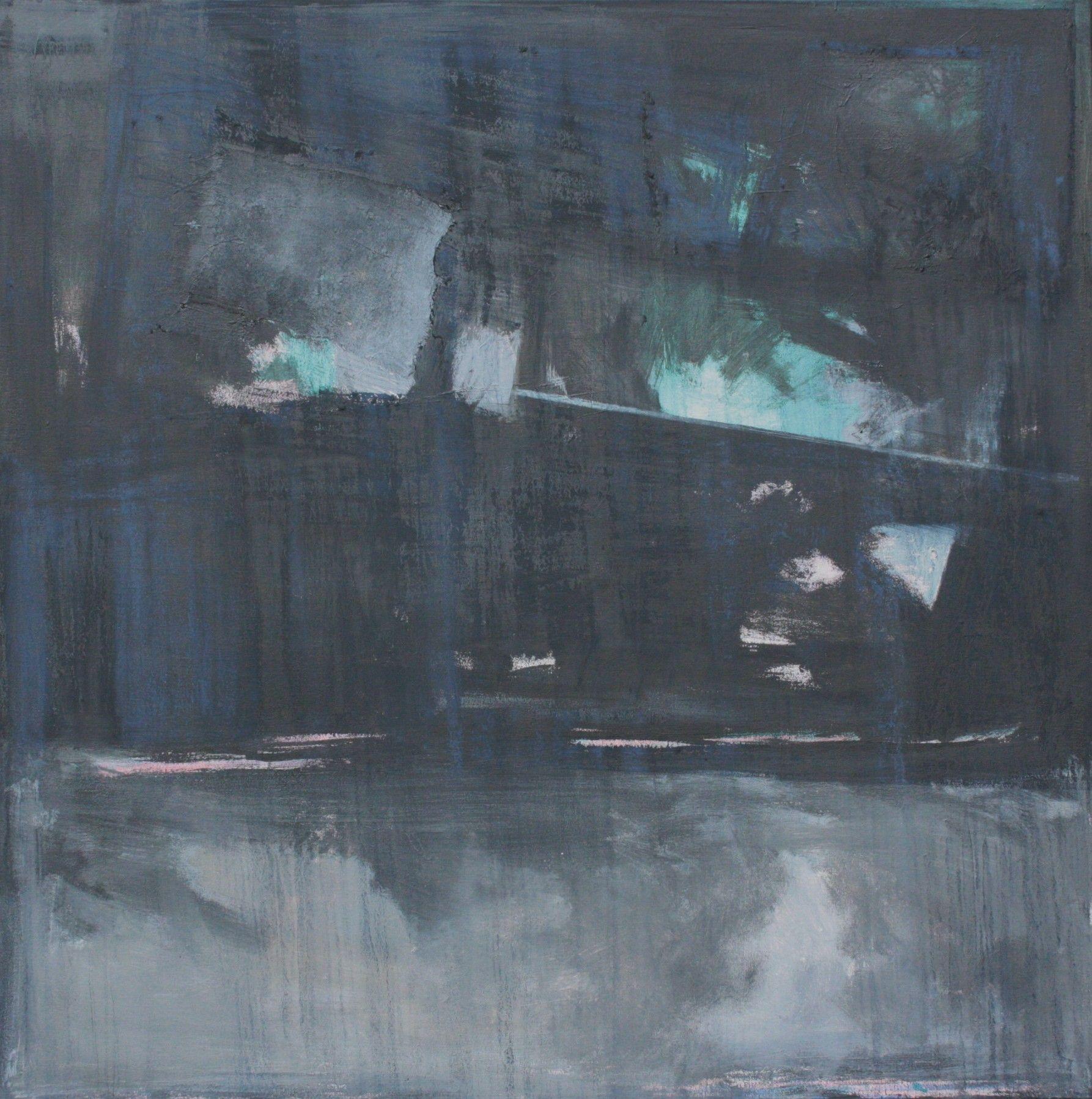 "c2012 Paul Ashby  Bent Horizons   Mixed Media on Canvas abstract Painting 48""X48""   Dallas Texas  Paul-Ashby.com"