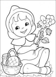 Desenhos Historia Chapeuzinho Vermelho Colorir Atividades Escola