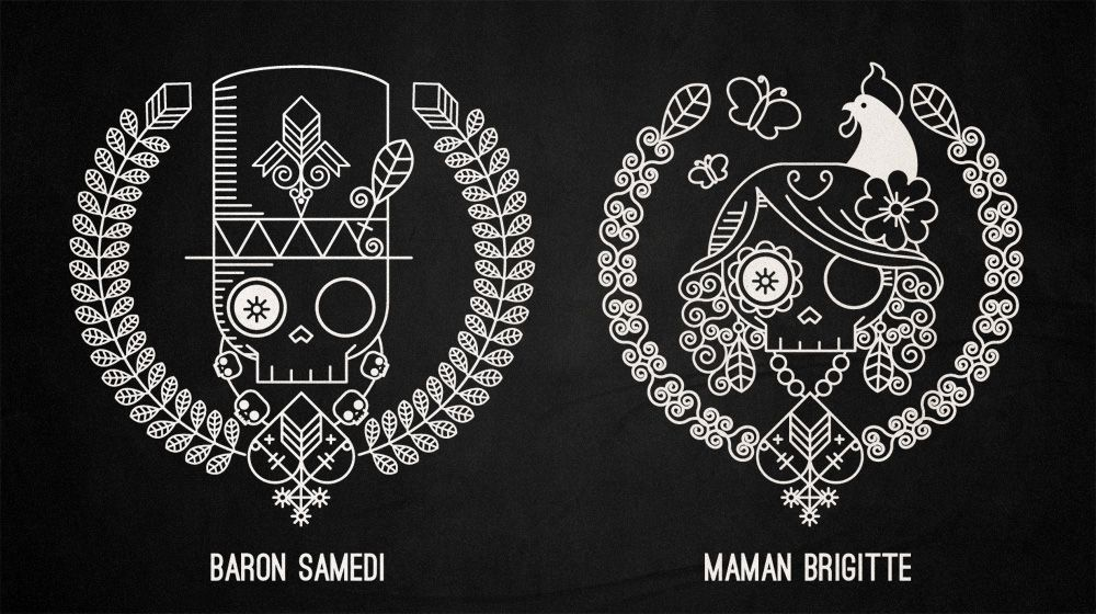 Baron Samedi & Maman Brigitte Icons  Guru  Voodoo : House of