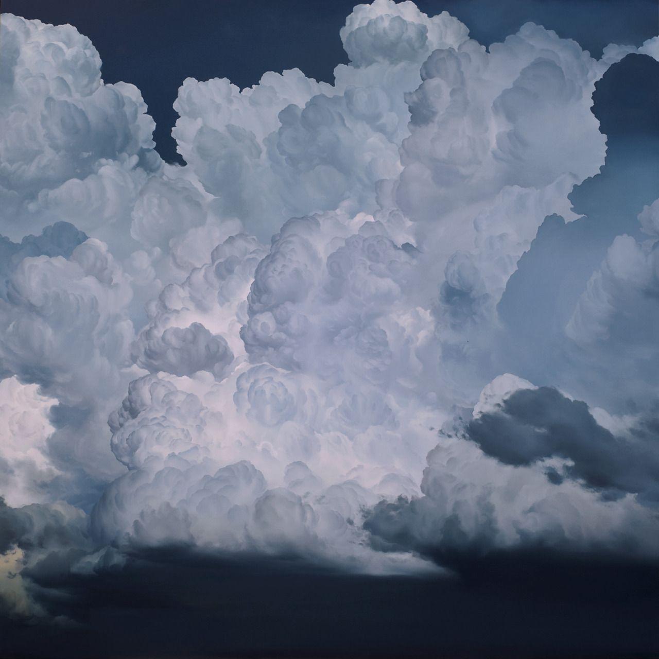 Bildergebnis für clouds paintings