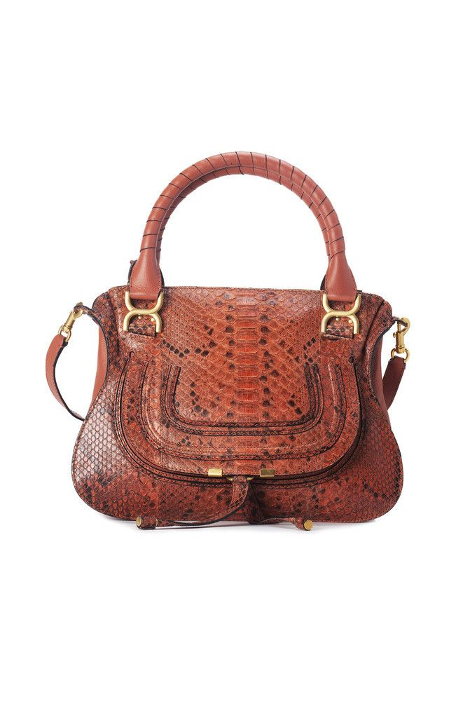 Chloe Marcie Python Shoulder Bag Is Todays Daily Deal More Than Half Off Check