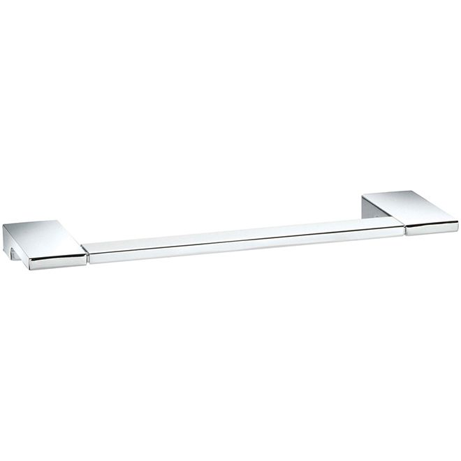 Taymor Wave Towel Holder 02 D20509 Rona Chrome Towel Bar Towel Holder Polished Chrome