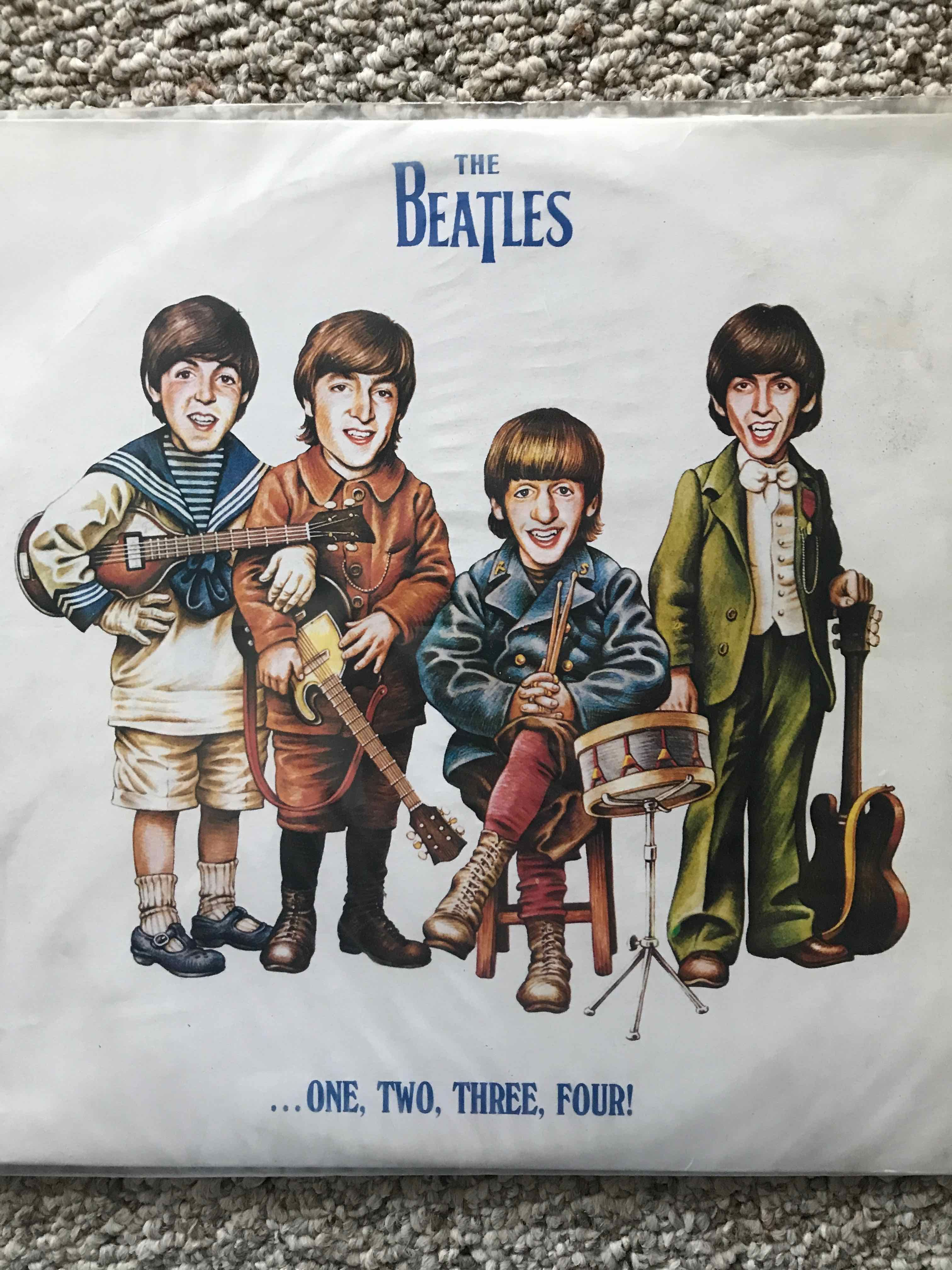 A Beatle bootleg album entitled One, Two, Three Four! | Beatles in