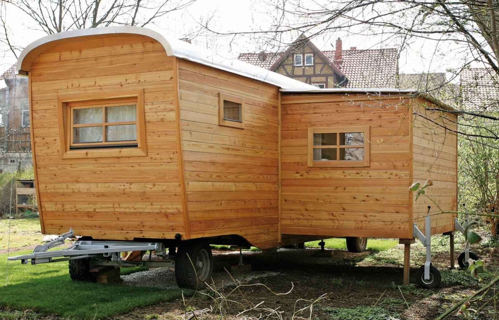 Haus Wohnwagen Basic Aus Holz Haus Wohnwagen Modell Basic