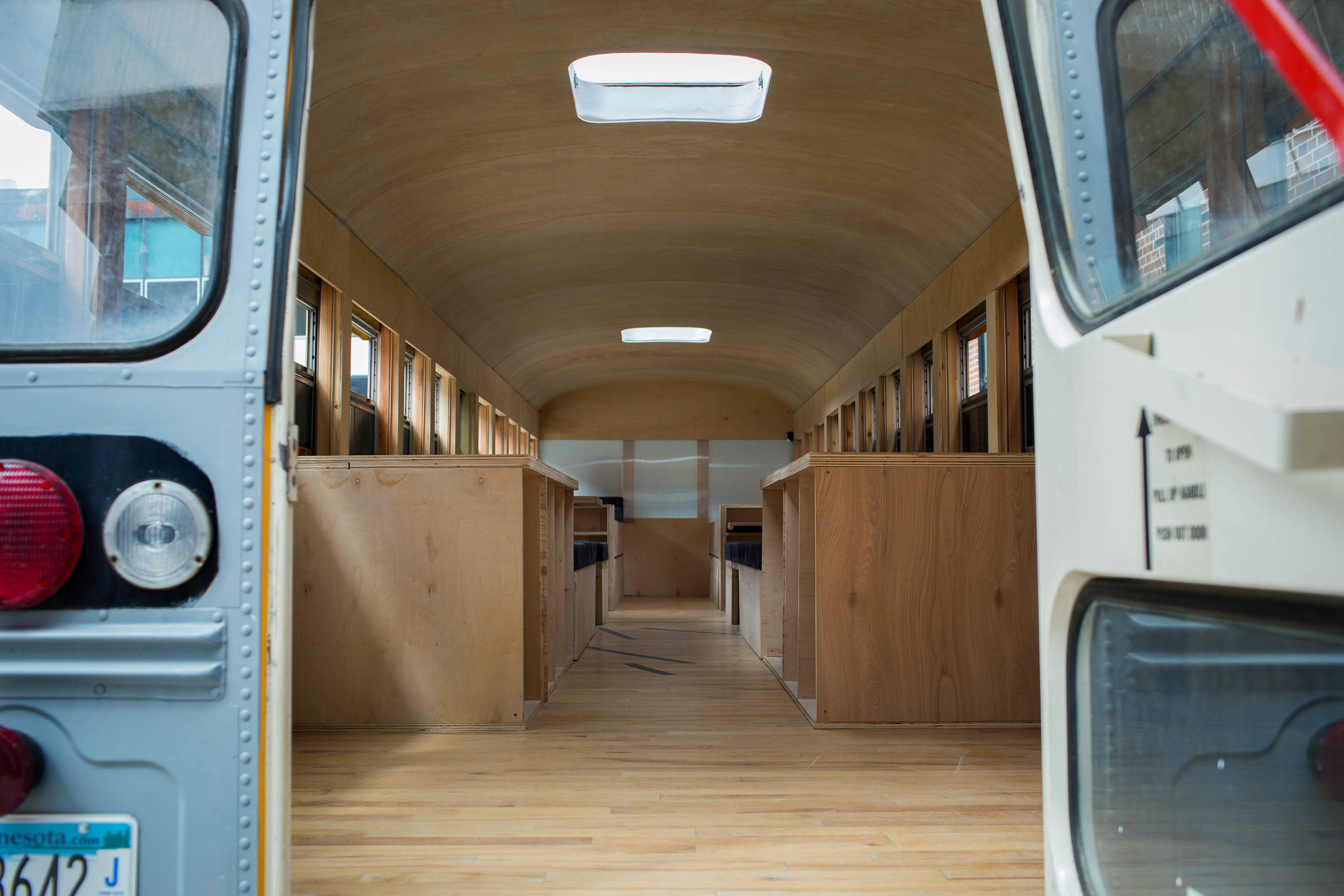 Field notes How a school bus became a house (With images