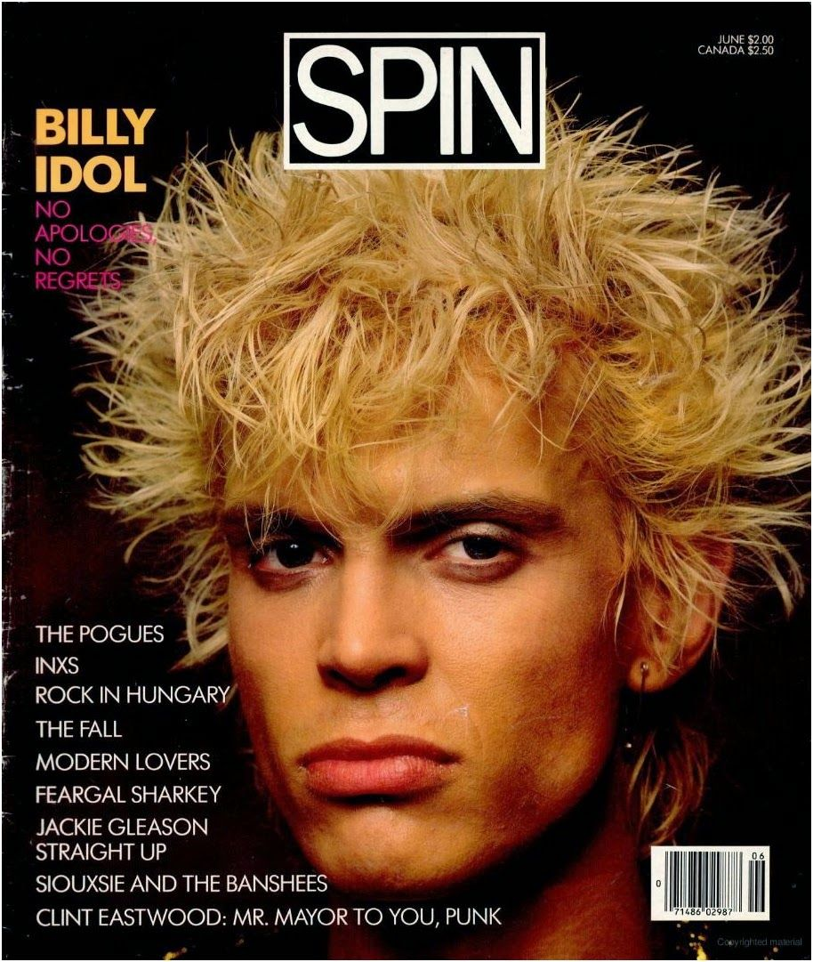 Top Of The Pops 80s: Billy Idol Spin Magazine Interview 1986 | Retro