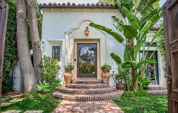 Romantic Spanish style villa in Beverly Hills is part of Home Accessories Luxury Beverly Hills - Romantic and extremely charming, this Spanish style villa has been newly renovated with lots of stylish features, located in Beverly Hills, California