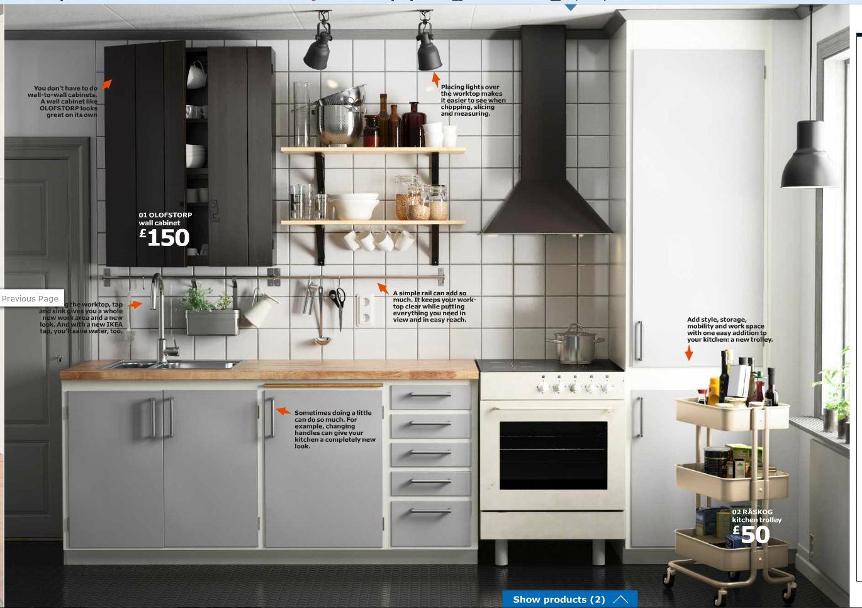 not an ikea kitchen... wooden worktop & retractable built-in ...