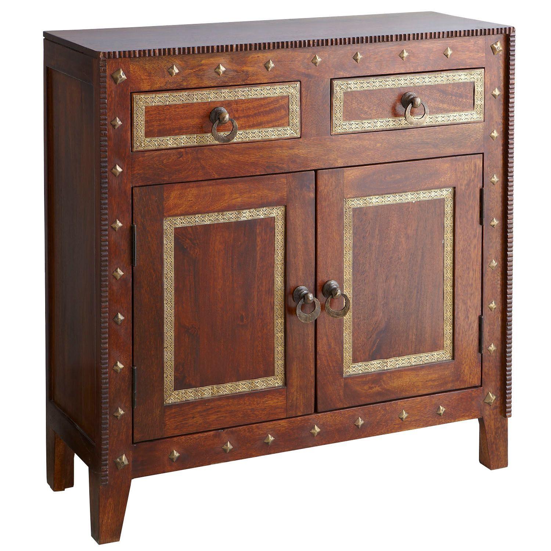 Heera Brown Mango Wood Cabinet | Pier 1 Imports