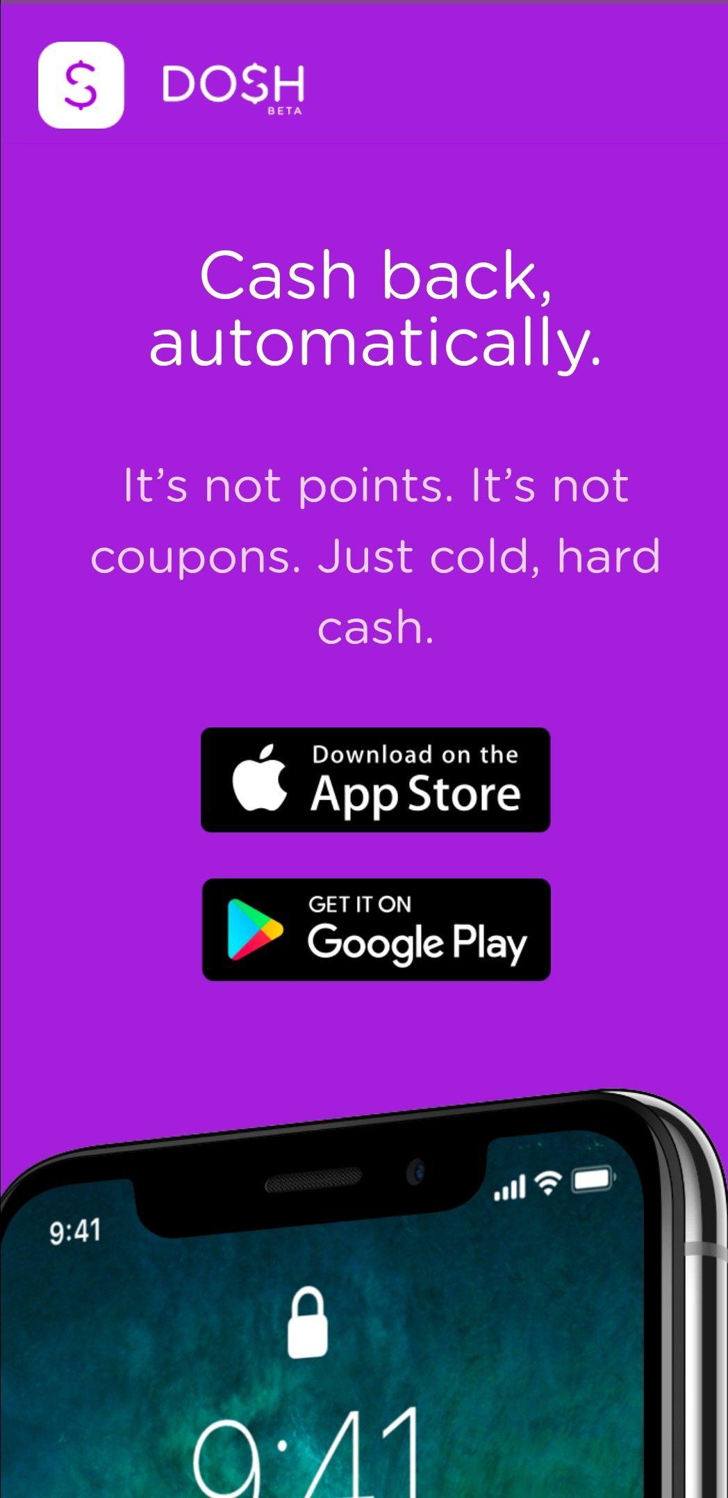 Cash back cash online purchase backs